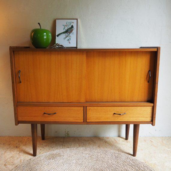 Vintage design Lowboard - Dressoir - 85x35cm H70cm - sold