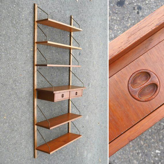 Deens design Wandsysteem - H195 B84cm D20/25/30cm - €350