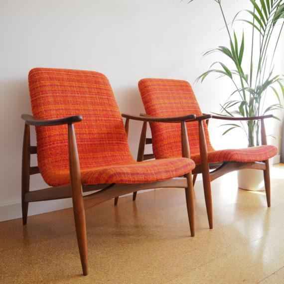 Deens design Easy chair - 2 beschikbaar -Sold