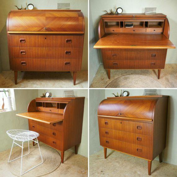 Secretaire Bureau - Egon Ostergaard - Zweeds design - Sold
