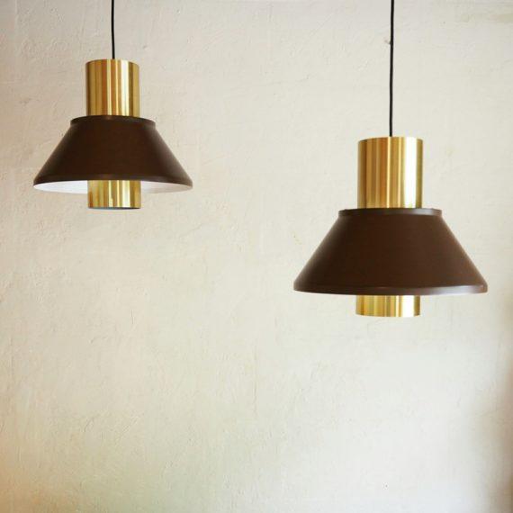 2 Hanglampen Jo Hammerborg Fog&Morup -Setprijs sold