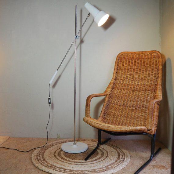 Hengellamp Vloerlamp Willem Hagoort - Wit - goede gebruikte staat -sold