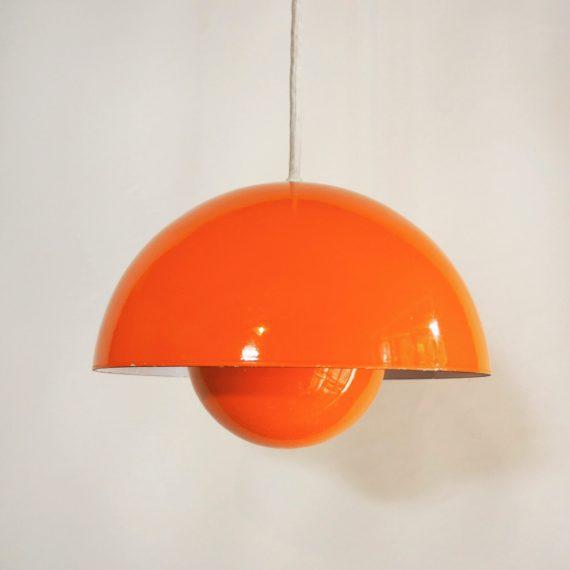Flowerpot hanglamp - Verner Panton voor Louis Poulsen - ø22cm - Goede staa - sold