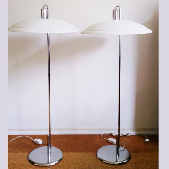 Vloerlamp Borge Lindau & Bo Lindekranz, Zero, Zweden - sold
