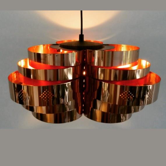 Hanglamp van Werner Schou voor Coronell, Deens design - sold
