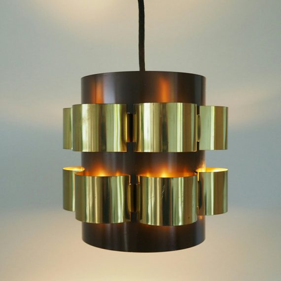 Deens design Lamp - Werner Schou, Coronell - 18x18cm totale H55cm - Sold