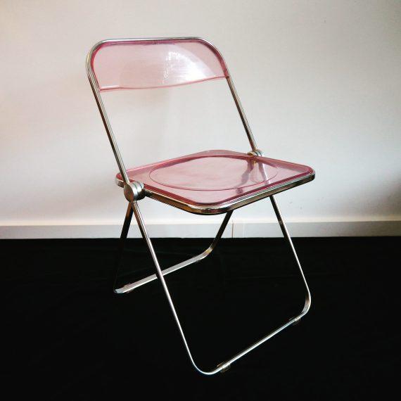 60's Klapstoel 'Plia' van Giancarlo Piretti, Castelli - sold