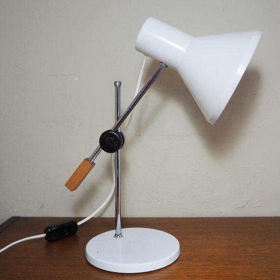 60's design Bureaulamp Anvia, J.J.M. Hoogervorst - goede vintage staat met leeftijdssporen - €25