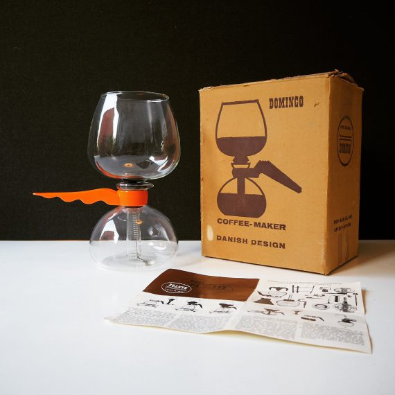 Slow coffee maker Domingo van Bodum, Danish design uit de jaren 60/70 - nieuw in doos - €35