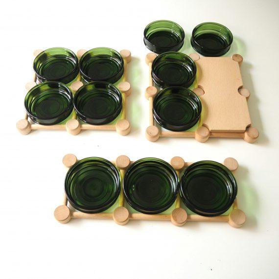 Serveerschalen NISSEN Denmark - Danish design Serving tray - 3delig €45 / 4delig €50 / 4 delig met extra blad €55