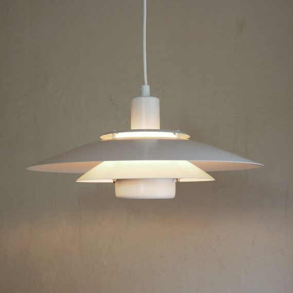 Vintage Danish design JEKA Schalenlamp type Gloria - Ø40cm - €145