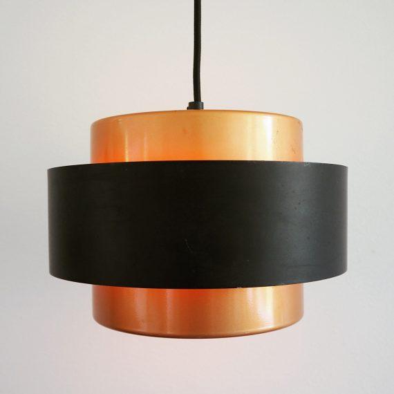 50's Hanglamp JUNO van Jo Hammerborg voor Fog & Mørup - inclusief de kunststof diffuser aan de onderkant - Danish design - Ø25cm - €295