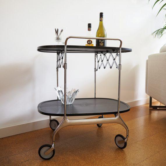 Vintage Kartell Gastone Trolley - Antonio Citterio & Oliver Low - H70 D62 cm - Italian design - Inklapbaar - sold