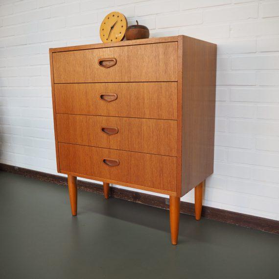 Vintage Zweeds Ladenkastje 60x33cm H74cm - sold