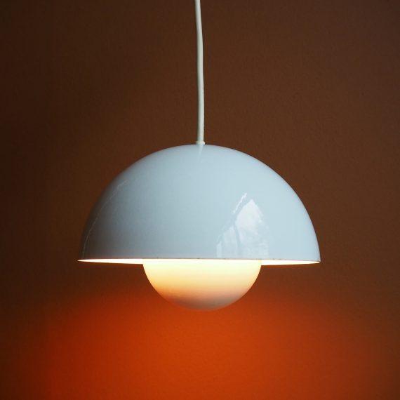 Flowerpot Hanglamp - Verner Panton voor Louis Poulsen - Vintage Danish design ø22cm - sold