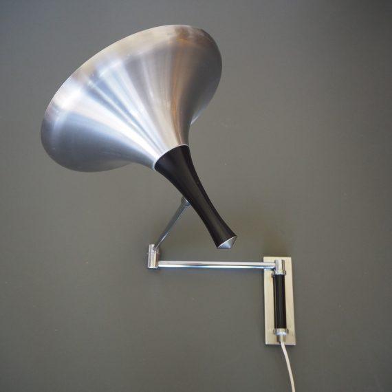 Wandlamp jaren 60 - Goede vintage staat, wat lichte leeftijdssporen/krasjes - sold