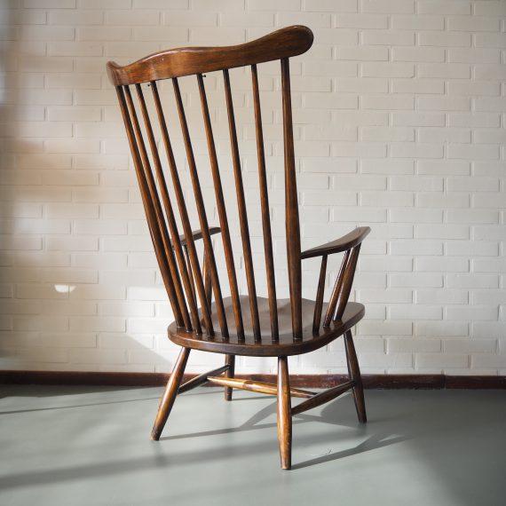 Grandessa Chair - Lena Larsson voor Nesto, Zweden - H97xB60cm Zithoogte38cm - Mooie en goede vintage staat, erg fijne zit - eventueel inclusief kussen - sold