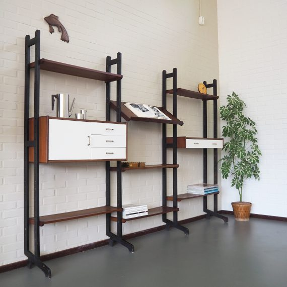 Simpla Lux Kast - Modulair Wandsysteem, in te delen naar wens - B248xH180xD34cm - Dutch design Wall Unit - sold